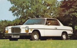 Mercedes-Benz 250 Coupe Auto Advertisement, C1970s Vintage Postcard - Turismo