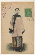 Yu- Nan Yunnan No 15 Chinoise De Song Fong Used Hanoi To Cepoy Loiret Hand Coloret - China