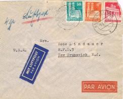 20417. Carta Aerea  BAD BRUCKENAU (Alemania Zona Anglo Americana) 1949 - Zona Anglo-Américan