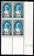 FRANCE - YT N° 422 Bloc De 4 Coin Daté - Neuf ** - MNH - Cote: 102,00 € - 1930-1939