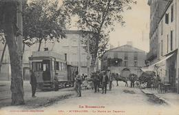 66)  RIVESALTES  - La Halte Du Tramway - Rivesaltes