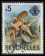 Seychelles 1985 SC 403Ec 5R Multicoloured  Used-F Octopus Wmk 373 - Seychelles (1976-...)