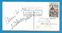 (A304) Signature / Dédicace / Autographe Original De Robert Lamoureux - Acteur, Humoriste, Auteur - Autographes