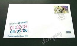 < 01:02:03 04/05/06 > Malta Once In A Lifetime ! Celebration 2006 FDC (commemorative Cover) - Malta
