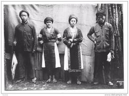 Indochine Photographie Retirage Ancien (Vietnam Viêt Nam) Type De Meo Khao Blan Région De Dong Van - Places