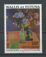 WALLIS FUTUNA 2003 N° 603 ** Neuf  MNH Superbe  Cote: 3 €  Flore Fleurs Gauguin Art Flowers Flora - Unused Stamps