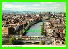 DUBLIN, UK -  DUBLIN CITY AND RIVER LIFFEY - ANIMATED -  JOHN HINDE ORIGINAL No 2/494 - TRAVEL IN 1978 - - Dublin