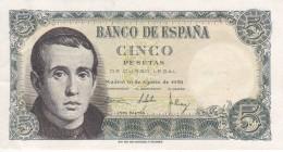 BILLETE DE ESPAÑA DE 5 PTAS DEL 16/08/1951 SERIE 1E EN CALIDAD EBC (XF) (BANKNOTE) - [ 3] 1936-1975 : Régimen De Franco