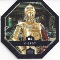 STAR WARS 2016 - Jeton Leclerc Cosmic Shells N° 4 - C-3PO - Autres Collections