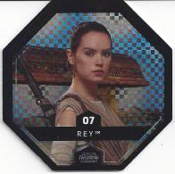 STAR WARS 2016 - Jeton Leclerc Cosmic Shells N° 7 - REY - Autres Collections