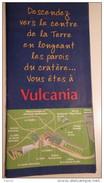 Dépliant Vulcania 2002 - Tourism Brochures