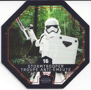 STAR WARS 2016 - Jeton Leclerc Cosmic Shells N° 16 - STORMTROOPER TROUPE ANTI EMEUTE - Autres Collections