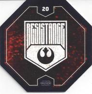 STAR WARS 2016 - Jeton Leclerc Cosmic Shells N° 20 - RESISTANCE - Autres Collections