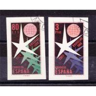 ES1222STV-LFTSHU1222.España. Spain.Espagne.EXPOSICION  DE BRUSELAS 1958 (Ed SH 1222/3º) Sin Charnela LUJO - Astrología