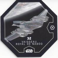 STAR WARS 2016 - Jeton Leclerc Cosmic Shells N° 32 - VAISSEAU ROYAL De NABOO - Autres Collections