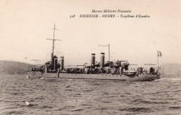 Transport : Bateaux : Le Torpilleur D'Escadre '' Enseigne Henry '' - Warships
