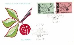 BELGIUM  1965 EUROPA CEPT FDC - Europa-CEPT