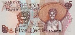 GHANA 5 CEDIS 4.7.1977 P-15b UNC  [GH116e] - Ghana