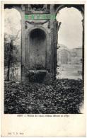 92 ISSY - Ruines Du Vieux Chateau Détruit En 1870 - Issy Les Moulineaux