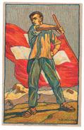 1912   CARTE FETE NATIONALE N° 3    CATALOGUE ZUMSTEIN - Suisse