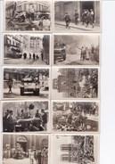 19 Photos 6x9cm De La Libération De Paris - Guerre 1939-45