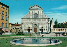 FIRENZE    PIAZZA  S. MARIA  NOVELLA    (VIAGGIATA) - Firenze