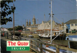 TRURO   THE  QUAY     (VIAGGIATA) - Inghilterra
