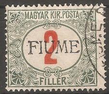 1918 - FIUME Porto 2 Fil - Fiume