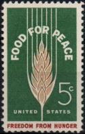 ETATS-UNIS USA  745 ** MNH Campagne Contre La Faim Hunger Blé Corn - Tegen De Honger