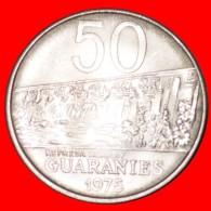 § DAM: PARAGUAY ★ 50 GUARANIES 1975 MINT LUSTER! LOW START★ NO RESERVE! Estigarribiain (1939-1940) - Paraguay