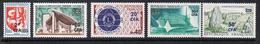 REUNION N°373 A 377 N** - Réunion (1852-1975)