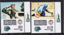 UNO ONU New York 2016 UN Peacekeepers = Tab MNH*** - New-York - Siège De L'ONU