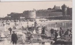 """35 ILLE ET VILAINE SAINT MALO  """" La Plage L'eventail Et Le Chateau  """" LL   N° 159 - Saint Malo"""