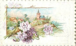 Chromo, Moka Leroux Orchies, Eglise - Thee & Koffie