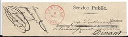 Cachet De Peruwelz Sur Fragment ( Bande). 5Juillet 1849. - 1830-1849 (Unabhängiges Belgien)