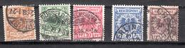 Duitse Rijk 1889  Mi Nr 45 +46 + 47 + 48 + 50 - Allemagne