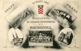 MACHECOUL(LOIRE ATLANTIQUE) CONCOURS DE GYMNASTIQUE - Machecoul