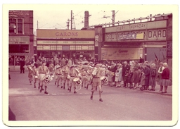 1st CHALKWELL BAY (NR SOUTHEND) BUGLE BAND (in Southend High Street) (Foto 127x88mm)