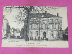 INGRANDES   / ARDT  CHATELLERAULT    1910    LA  POSTE AUX CHEVAUX       EDIT CIRC  OUI - Other Municipalities