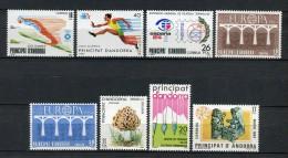 Andorra 1984. Completo ** MNH. - Ungebraucht