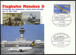Germany Munich 1992 / Plains / Opening Of Franz Josef Strauss Airport - Airplanes