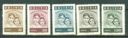 Bolivia 1960  Yv 381/385** - Bolivie