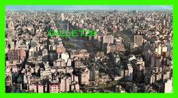 BUENOS AIRES, ARGENTINA -  VISTA AÉREA DE LA AV. 9 DE JULIO - DIMENSION 11 X 19cm - EDICOLOR - - Argentine
