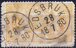 Sweden 1881 - Official ( Mi D8B - YT S8B ) Perf. 14 - Service