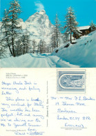 Breuil Cervinia, Val D'Aosta , Italy Postcard Posted 1976 Stamp - Aosta