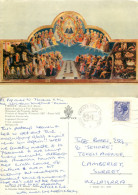 Fra Angelico, Firenze, Art Painting Postcard Posted 1972 Stamp - Paintings