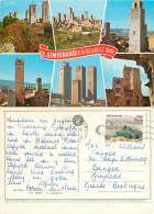 San Gimignano, SI Siena, Italy Postcard Posted 1996 Stamp - Siena