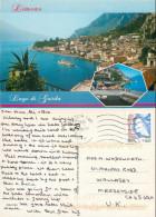 Limone Sul Garda, BS Brescia, Italy Postcard Posted 2009 Stamp - Brescia