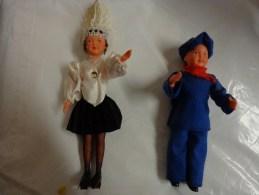 2 Poupee Folklorique - Other Collections