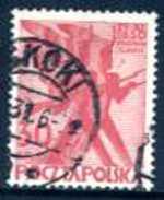 POLOGNE - N° 354 (Y&T) - 1930 - OBLITERE - Centenaire De L'insurrection De 1830 - Used Stamps